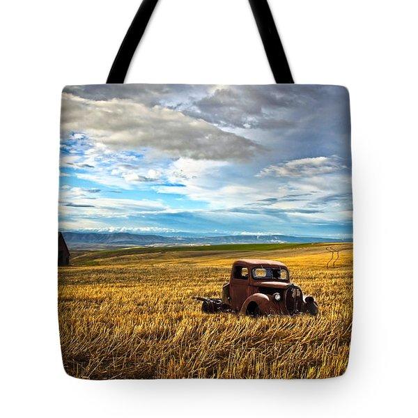 Farm Field Pickup Tote Bag by Steve McKinzie