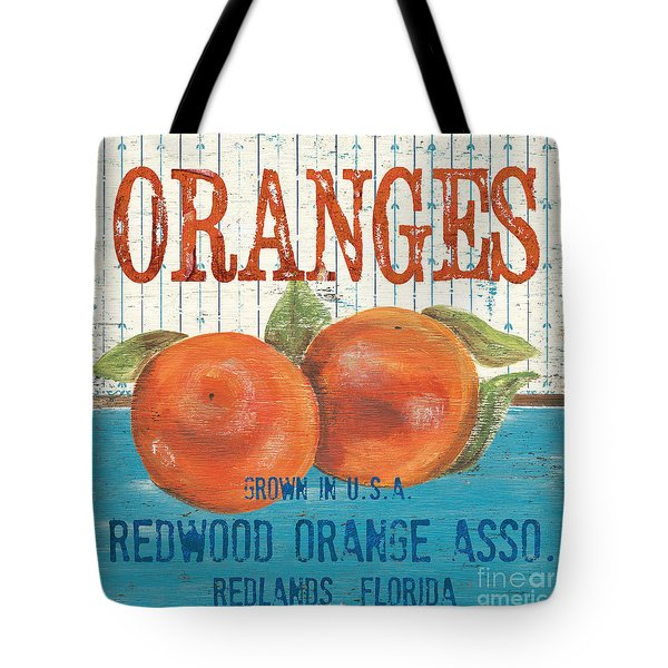 Farm Fresh Fruit 2 Tote Bag by Debbie DeWitt