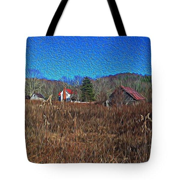 Farm House 2 Tote Bag