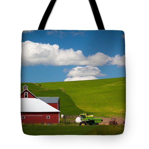Farm Machinery Tote Bag by Inge Johnsson