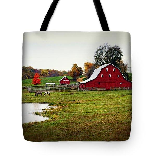 Farm Perfect Tote Bag by Marty Koch