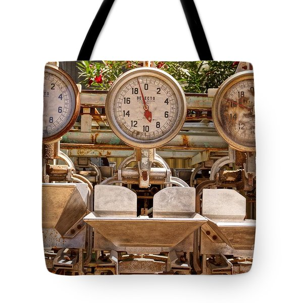 Farm Scales Tote Bag