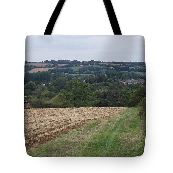 Farm Tractor 2 Tote Bag by John Williams