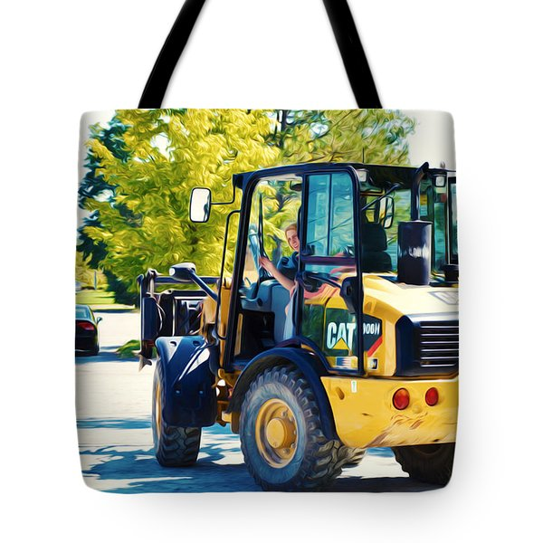 Farm Tractor 2 Tote Bag by Lanjee Chee