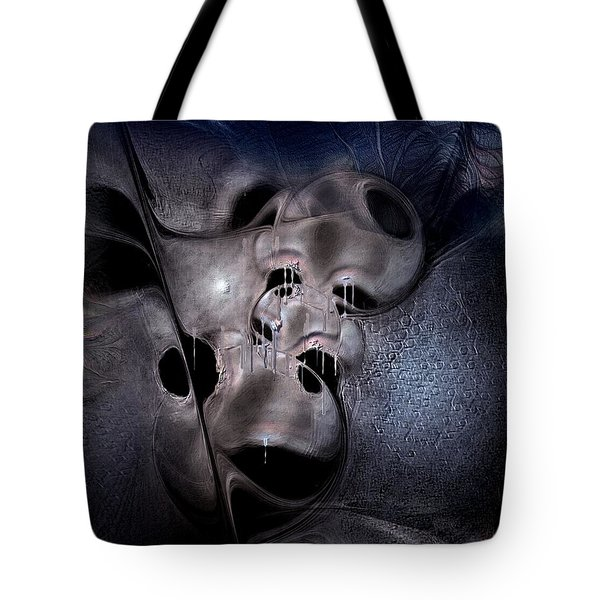 Tote Bag featuring the digital art Farmaceutical Future by Casey Kotas