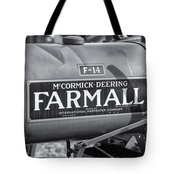 Farmall F-14 Tractor II Tote Bag by Clarence Holmes