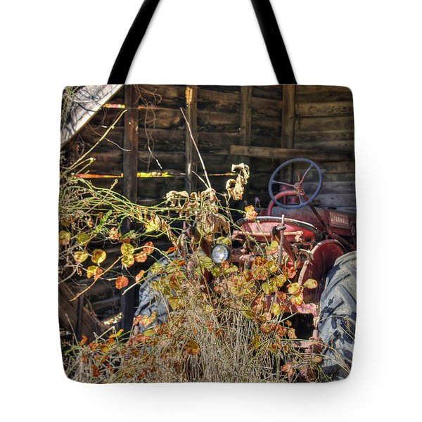 Farmall Find Tote Bag by Benanne Stiens