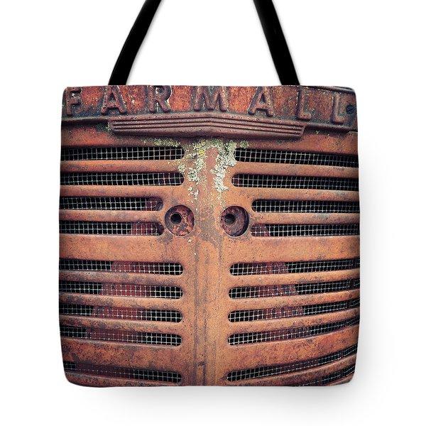 Tote Bag featuring the photograph Farmall by Rebecca Davis