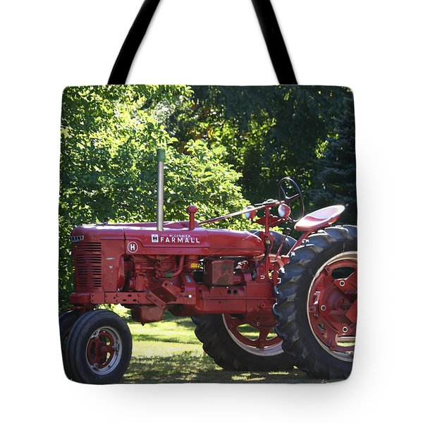 Farmall's End Of Day Tote Bag by Denyse Duhaime