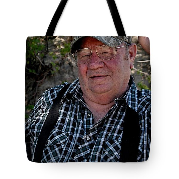 Farmer Tote Bag by Joseph Yarbrough