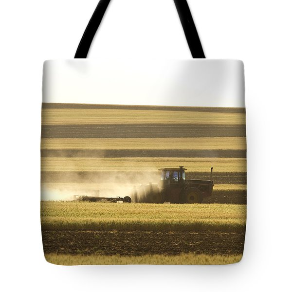 Farmer Working Tote Bag by James BO  Insogna