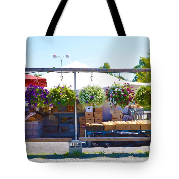 Farmers Market 2 Tote Bag by Lanjee Chee