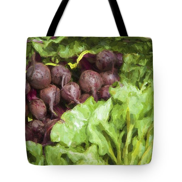 Farmers Market Beets And Greens Tote Bag