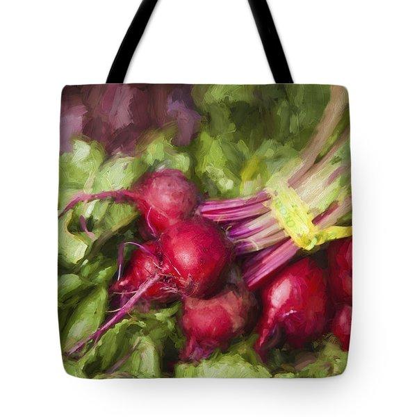 Farmers Market Beets Tote Bag
