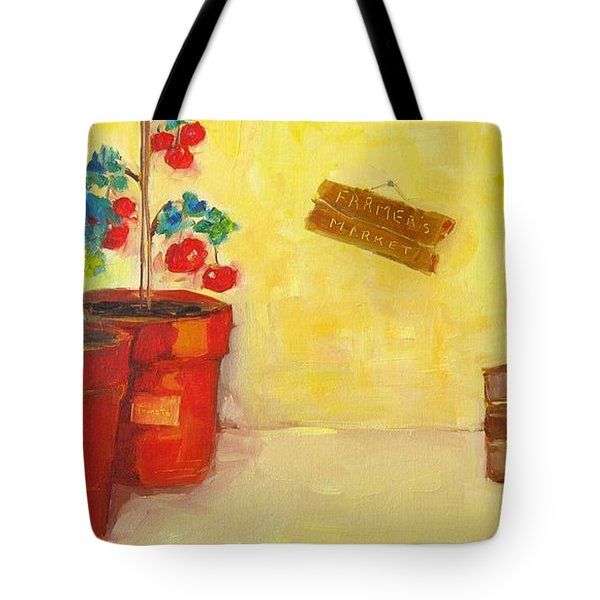 Farmer's Market Botanical Section Tote Bag