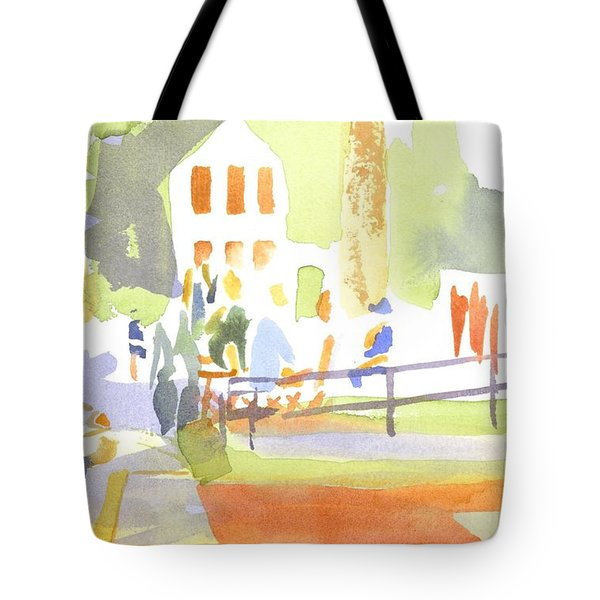 Farmers Market II  Tote Bag by Kip DeVore