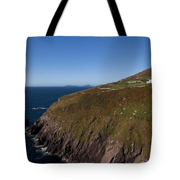 Farmhouse And Distant Blasket Islands Tote Bag