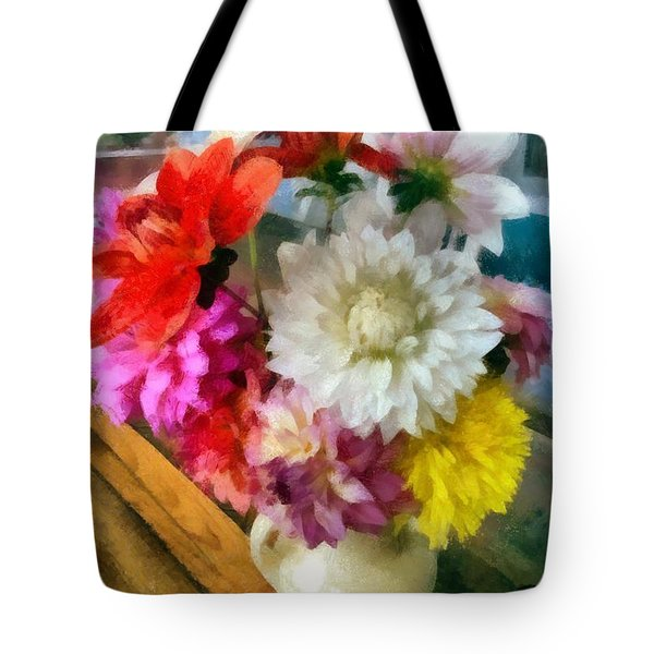 Farmhouse Arrangement Tote Bag