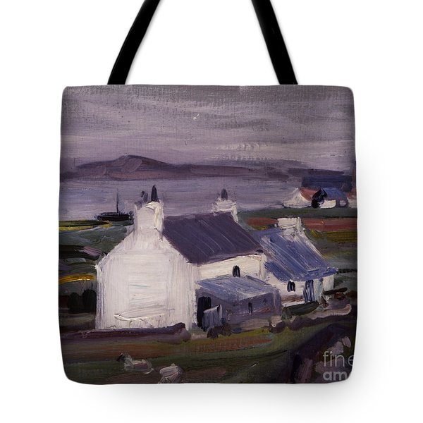 Farmsteading Tote Bag by Francis Campbell Boileau Cadell