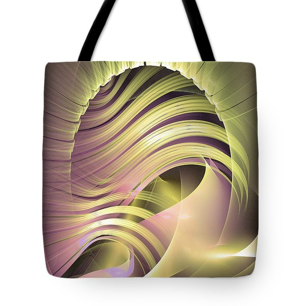 Fascinatio Lucis - Abstract Art Tote Bag