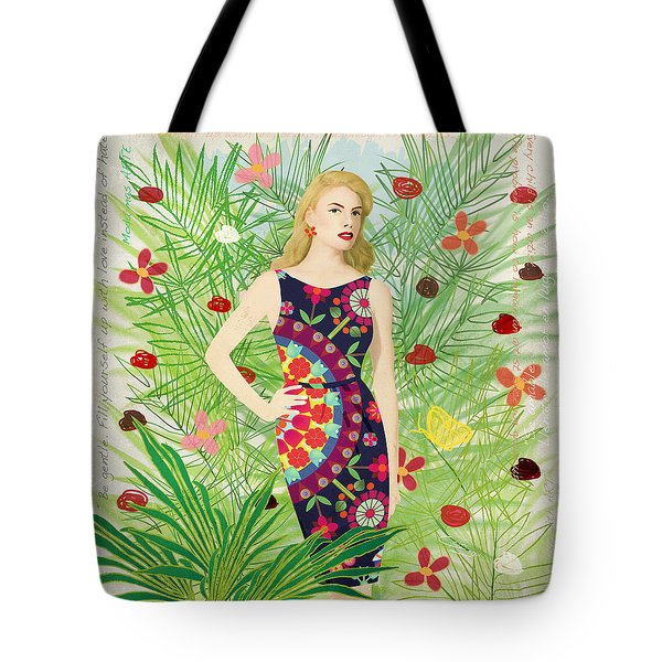 Fashion And Art - Limited Edition 1 Of 10 Tote Bag by Gabriela Delgado