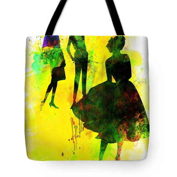 Fashion Models 2 Tote Bag