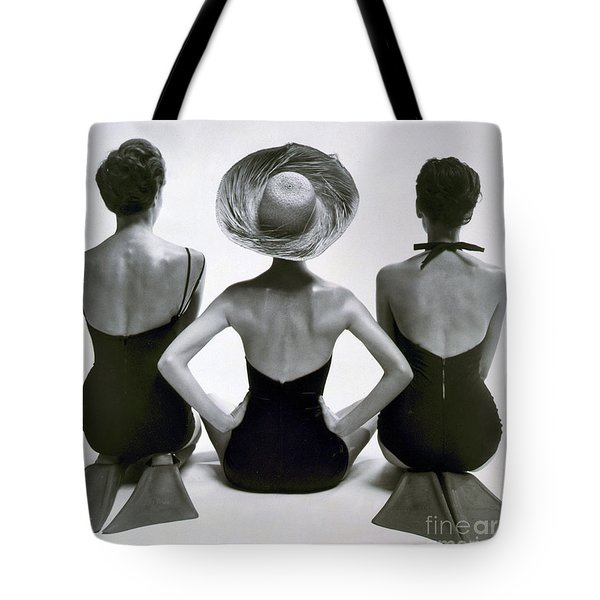 Fashion Models In Swim Suits, 1950 Tote Bag