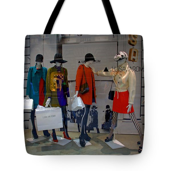 Fashion On Display Tote Bag