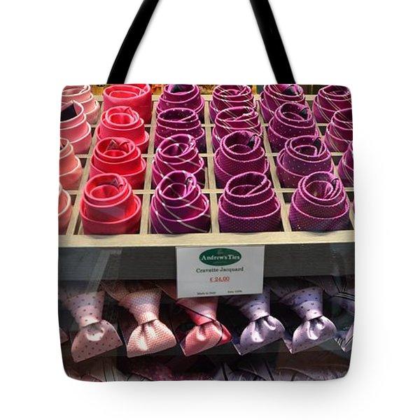 Fashion Ties Tote Bag by Dany Lison