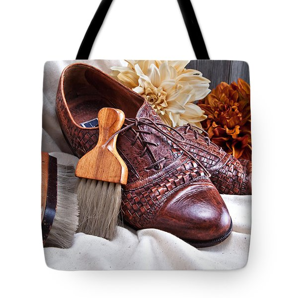 Fashionable Italian Shoes Still Life Tote Bag
