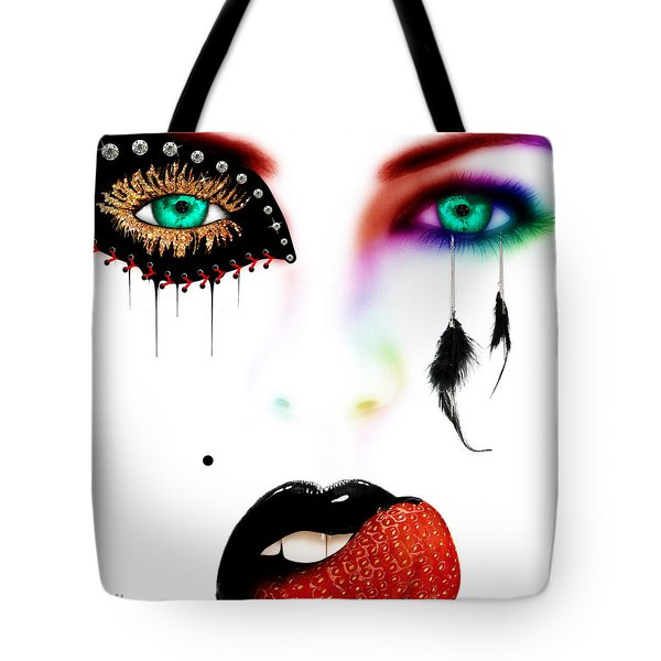 Fashionista Soft Rainbow Tote Bag