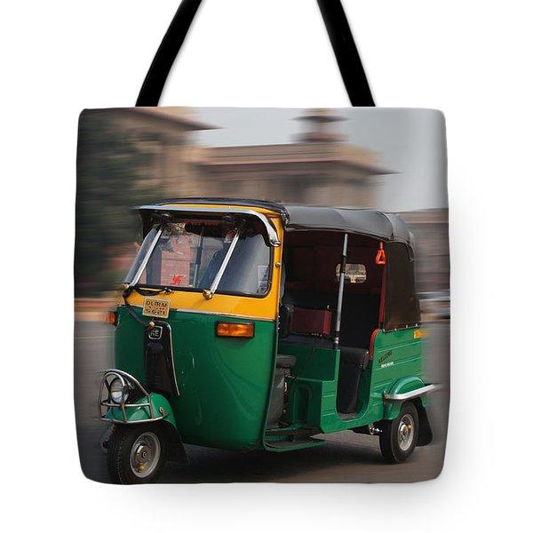 Fast As Wind Tote Bag