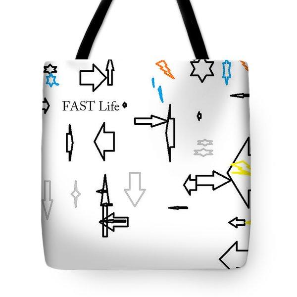 Fastlife Tote Bag by Aaron Martens
