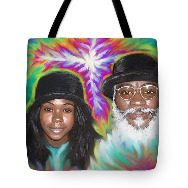 Father And Daughter Spirit Ministry  Tote Bag