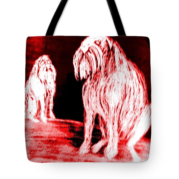 The Father And The Son Misses The Holy Ghost  Tote Bag