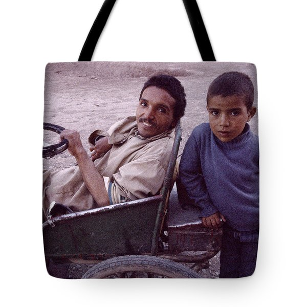 Father And Son Tote Bag by Shaun Higson