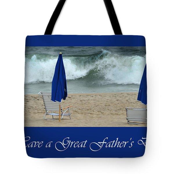 Father's Day Card Tote Bag by Randi Grace Nilsberg