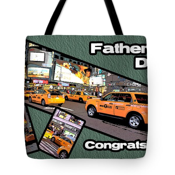 Tote Bag featuring the photograph Father's Day by Randi Grace Nilsberg