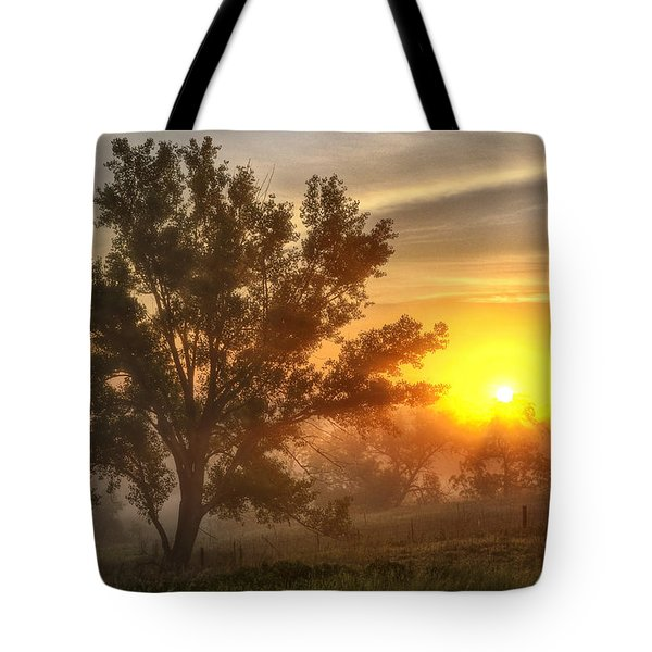 Father's Day Sunrise Tote Bag
