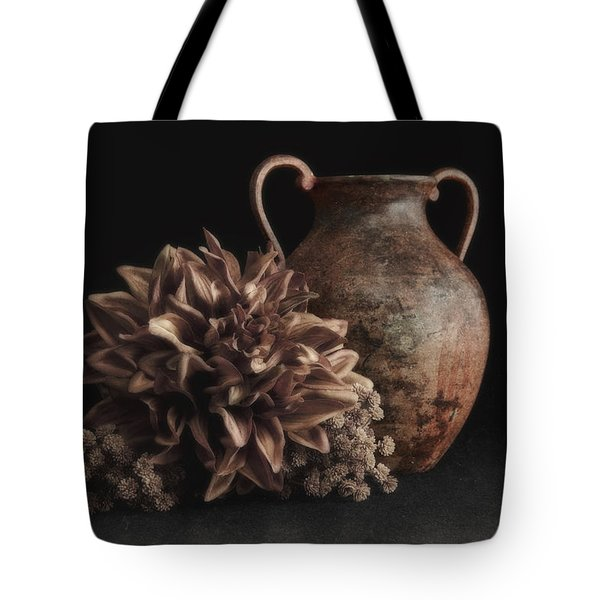 Faux Flower Still Life Tote Bag