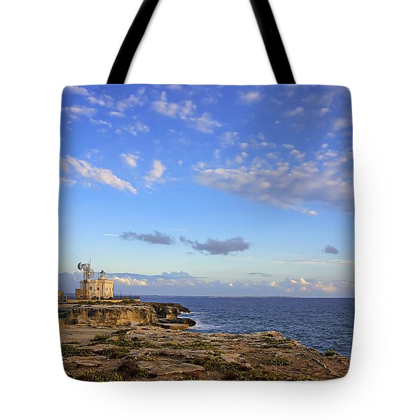 Favignana - Lighthouse Tote Bag