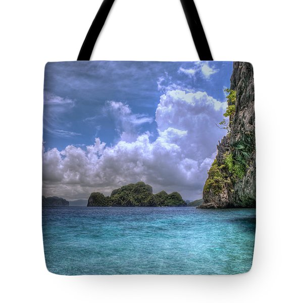 Favorite Color Blue Tote Bag