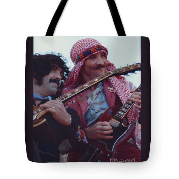 Favorite Of Manny Charlton And Zal Cleminson - Nazareth At Day On The Green 2 - 4th Of July 1979  Tote Bag