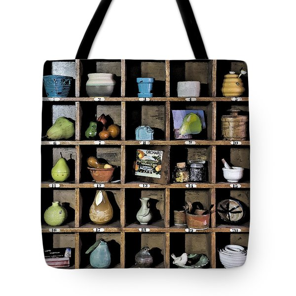 Favorite Things 3 Tote Bag by Patrick M Lynch