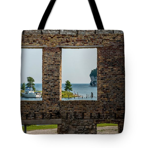 Fayette Ruins Tote Bag by Paul Freidlund