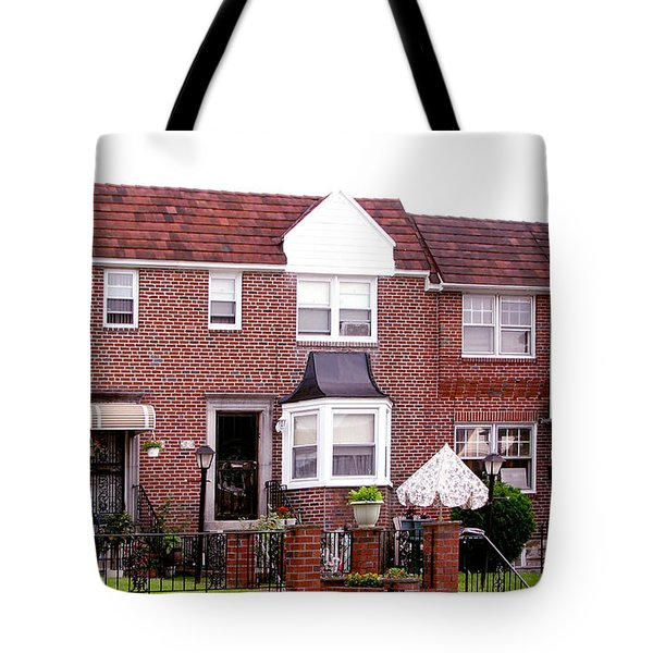Fayette Street Tote Bag by Christopher Woods