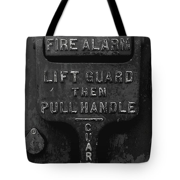 Fdny - Alarm Tote Bag by James Aiken