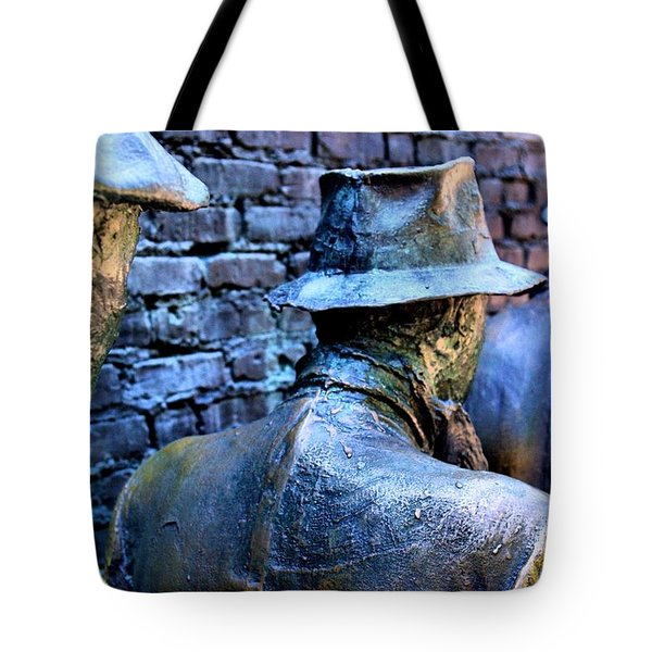 Tote Bag featuring the photograph Franklin Roosevelt   Memorial Washington Dc by John S