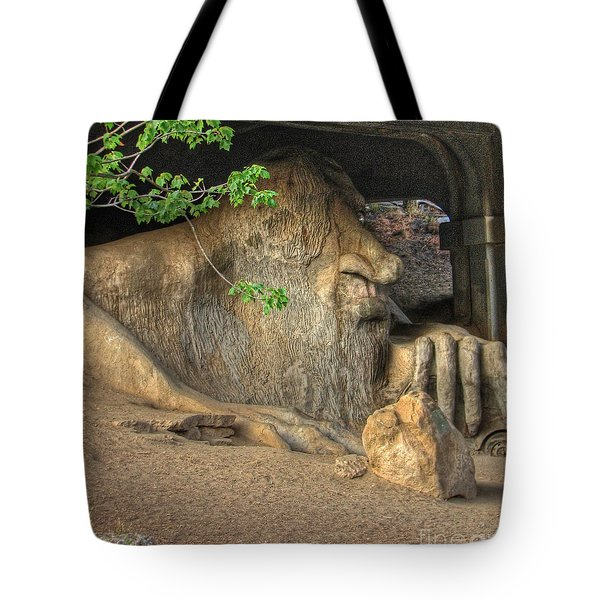 Fe Fi Fo Fum ... Tote Bag by Chris Anderson