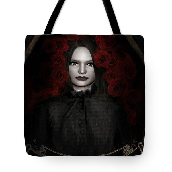 Fear Not Death Tote Bag by Lourry Legarde